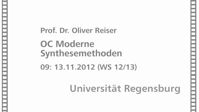 Moderne Synthesemethoden 09