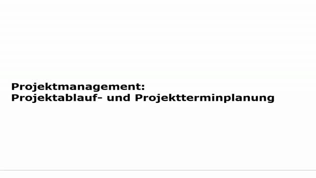 10 Projektmanagement Vorlesung 2014-15