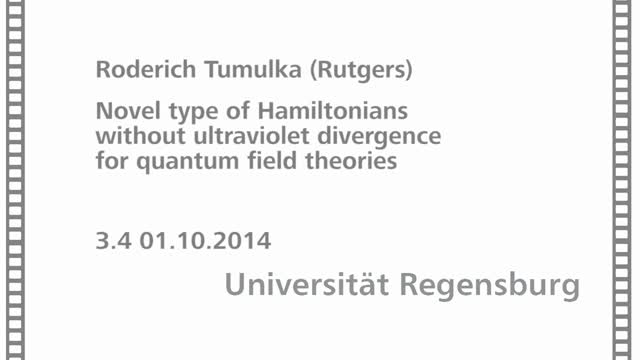 Quantum Mathematical Physics - 03 - 04