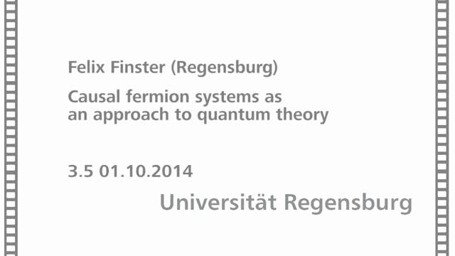 Quantum Mathematical Physics - 03 - 05