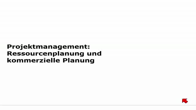 12 Projektmanagement Vorlesung 2014-15