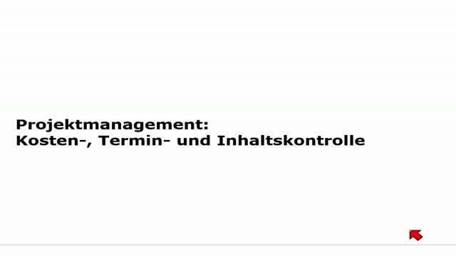 17 Projektmanagement Vorlesung 2014-15