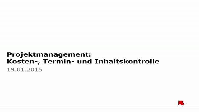 20 Projektmanagement Vorlesung 2014-15