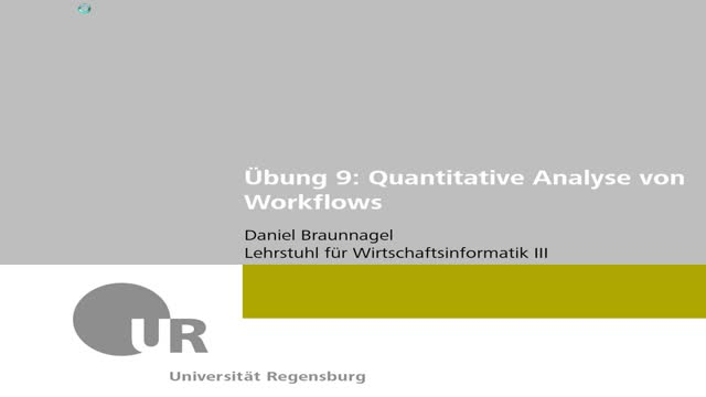 Workflowmanagement - Übung 09