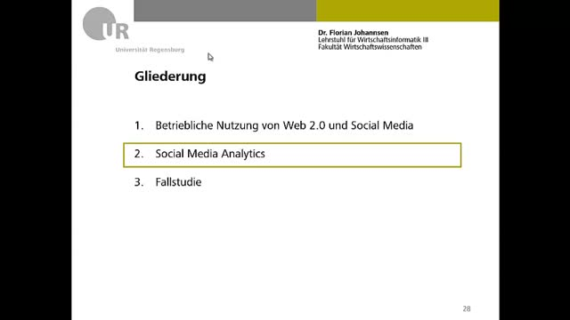 Qualitätsmanagement - Social Media Analytics 02