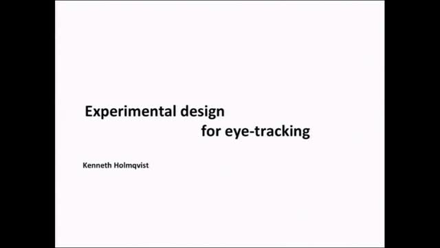 Eyetracking - 02
