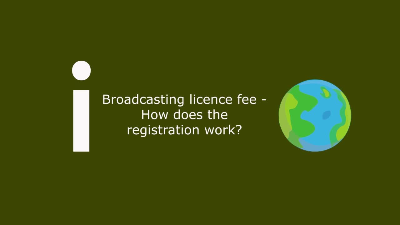 02b Broadcasting licence fee - How does the registration work?