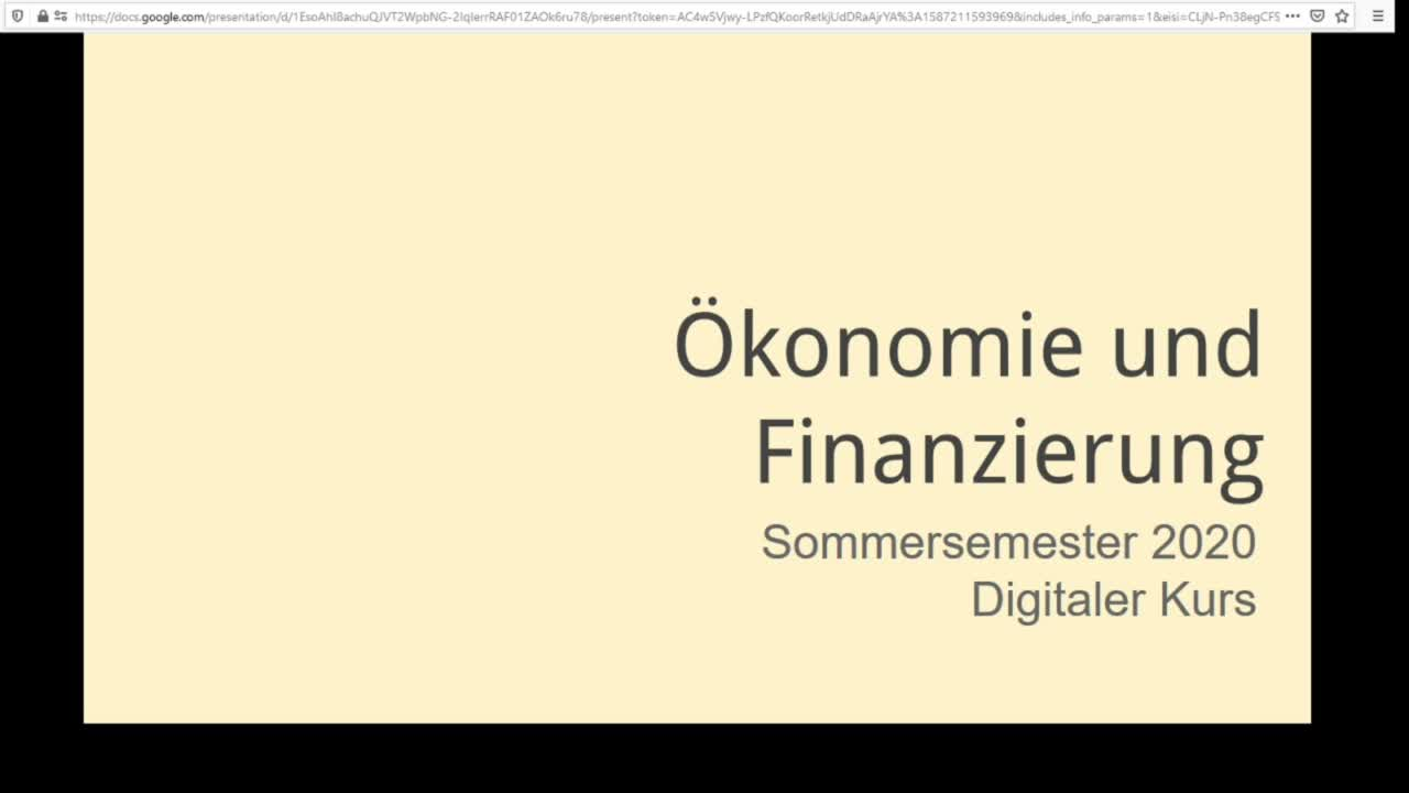 Screencast Digitaler Journalismus: Ökonomie des digitalen Journalismus
