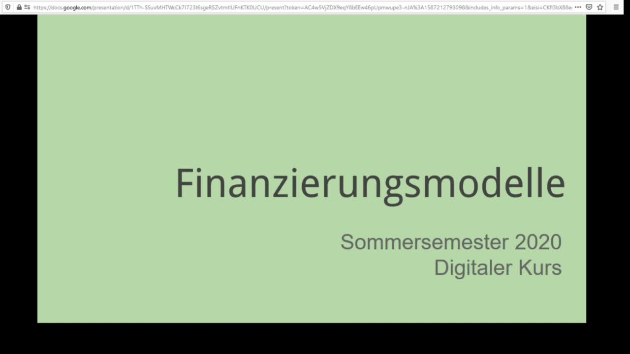 Screencast Digitaler Journalismus: Finanzierungsmodelle