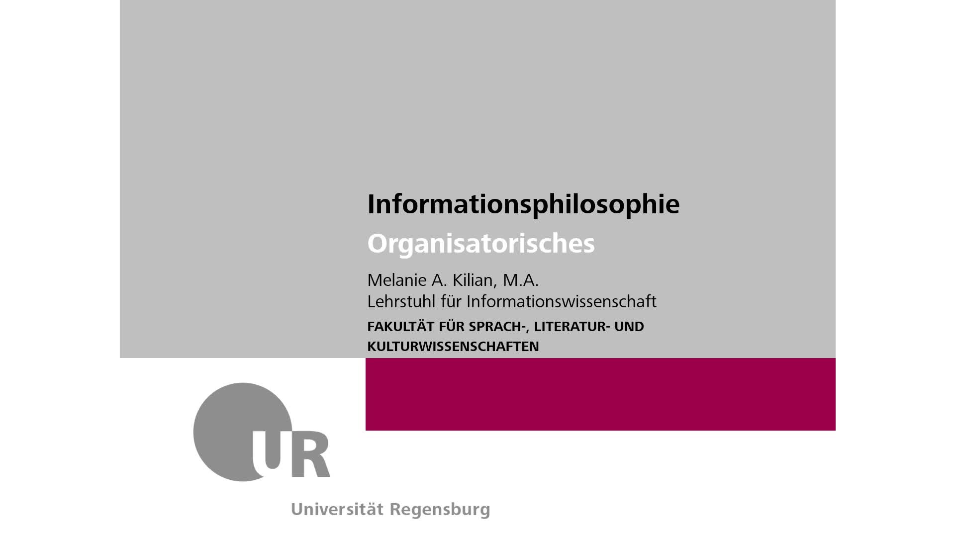 00 Organisatorisches