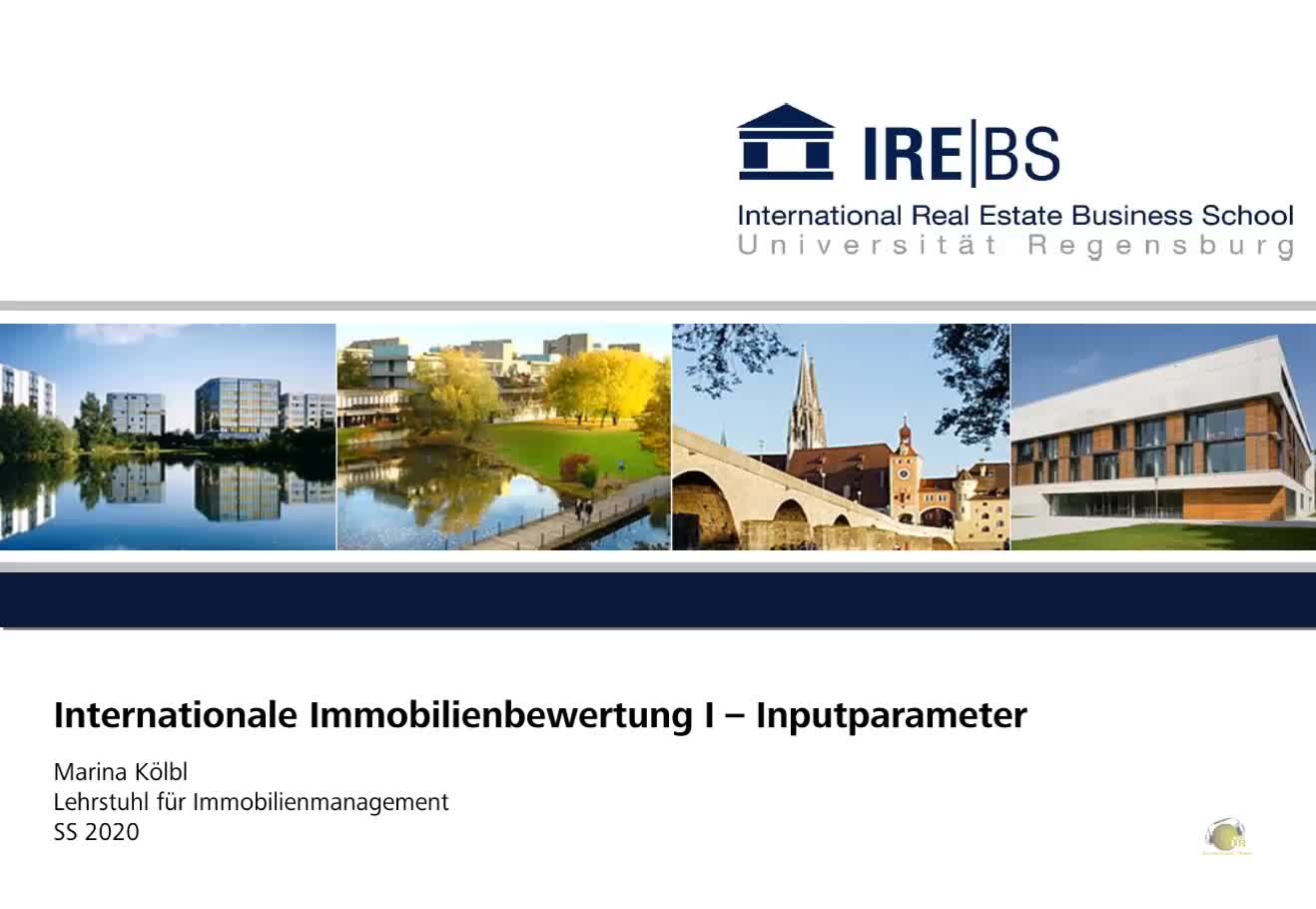 Immobilienmanagement II - Übung 1