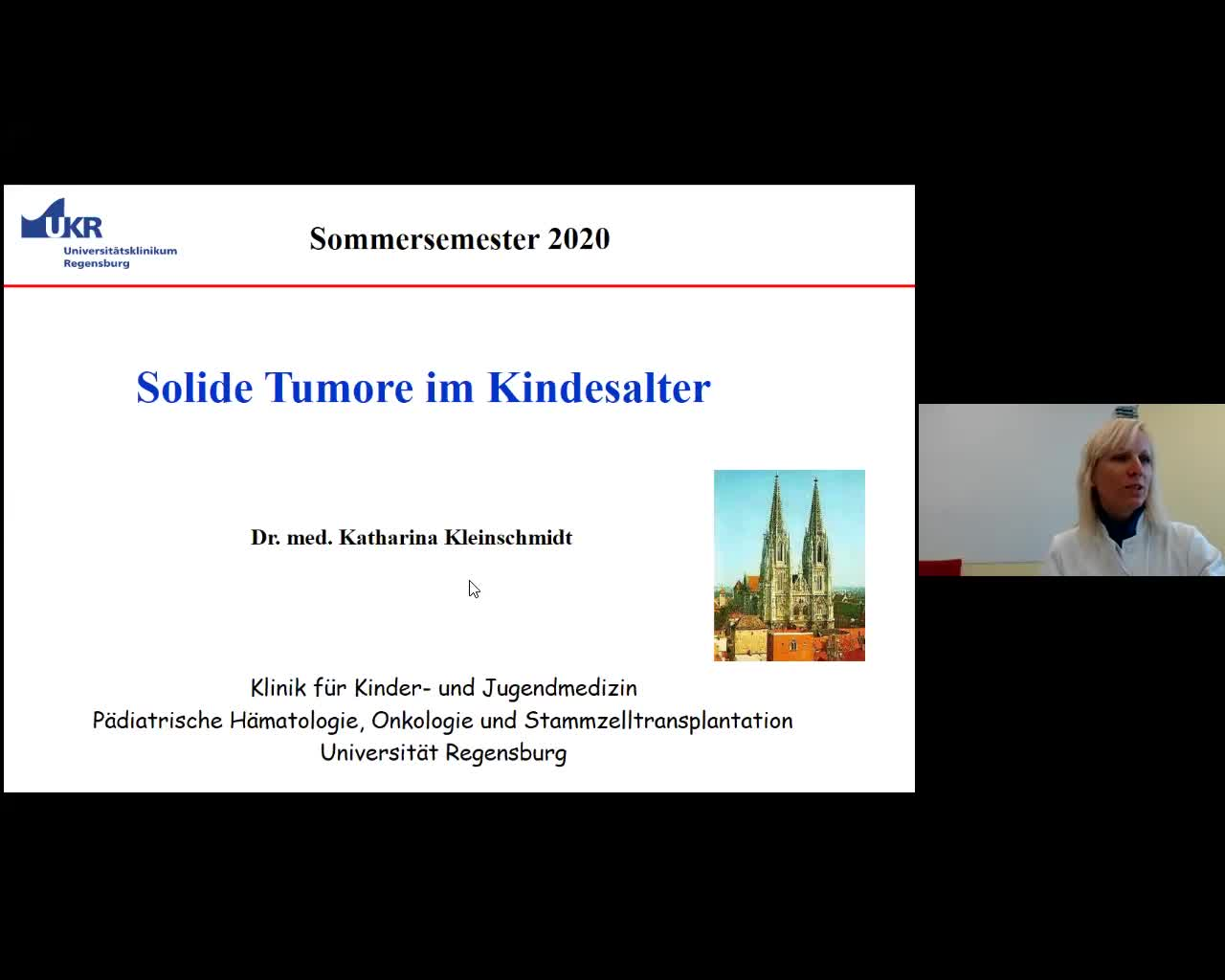 Solide Tumore im Kindesalter