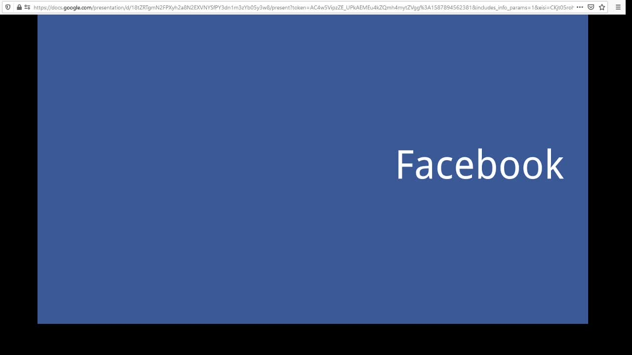 Screencast Digitaler Journalismus: Facebook