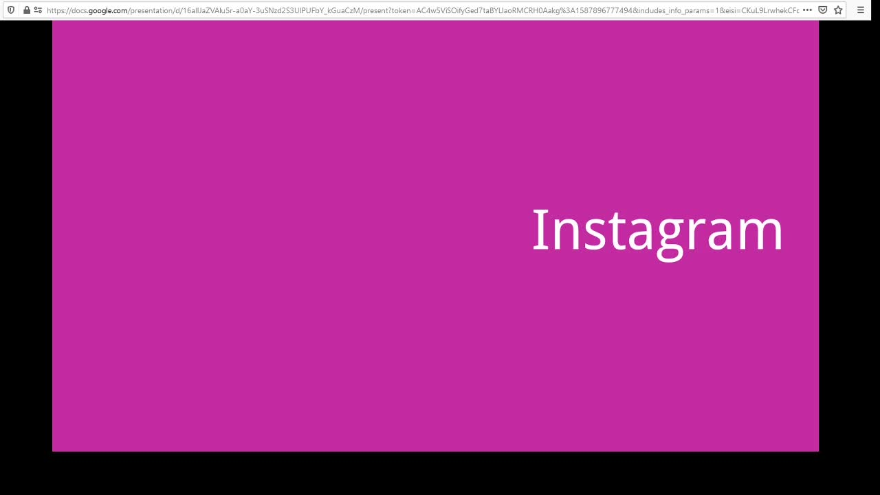 Screencast Digitaler Journalismus: Instagram