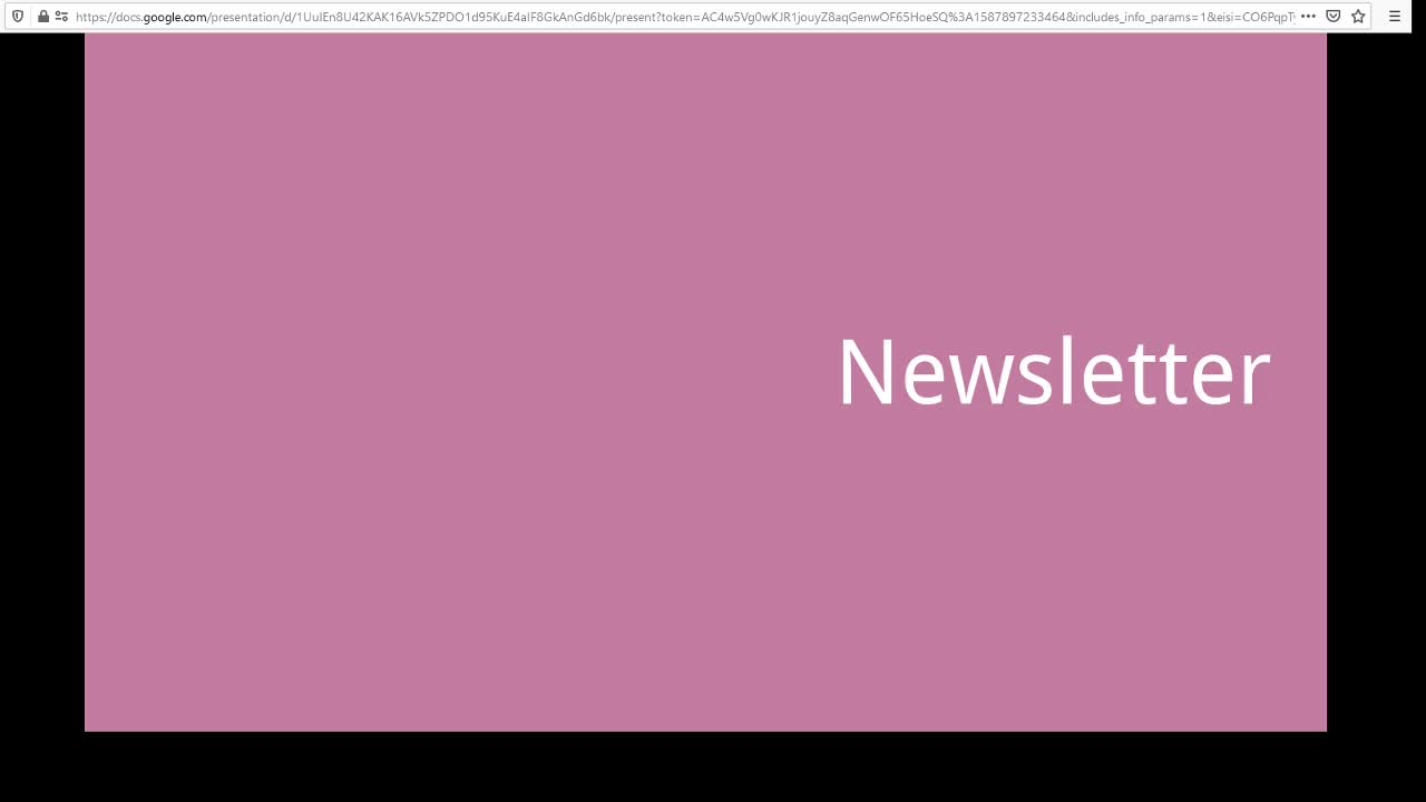 Screencast Digitaler Journalismus: Newsletter