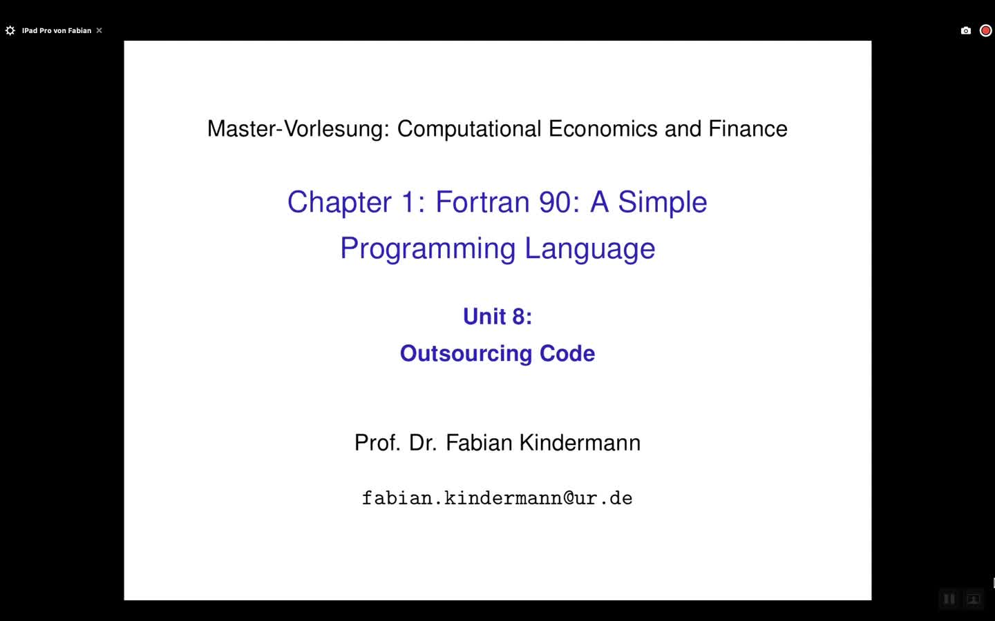 Chapter 1 - Unit 8 - Outsourcing Code