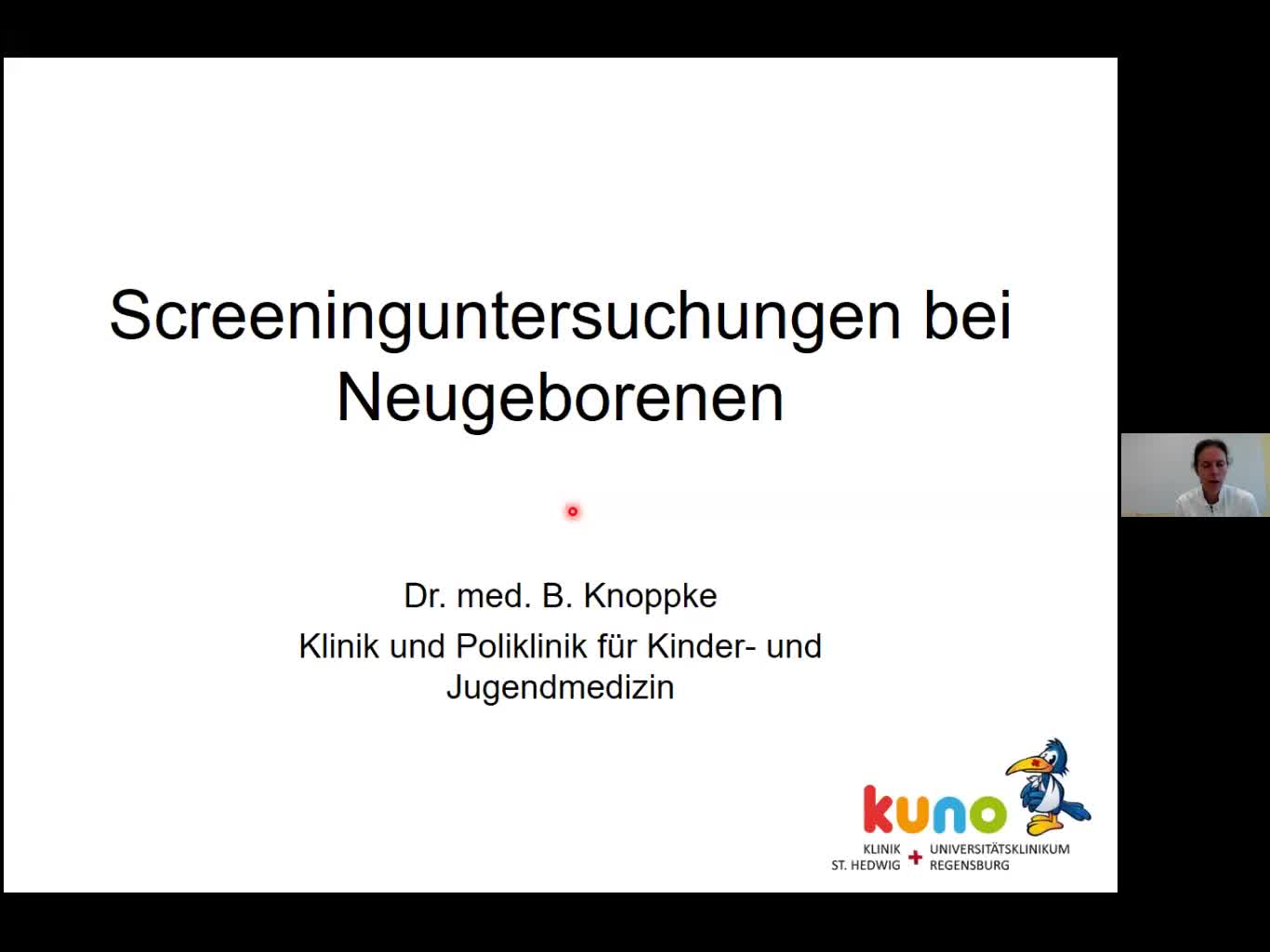 Screening im Neugeborenenalter
