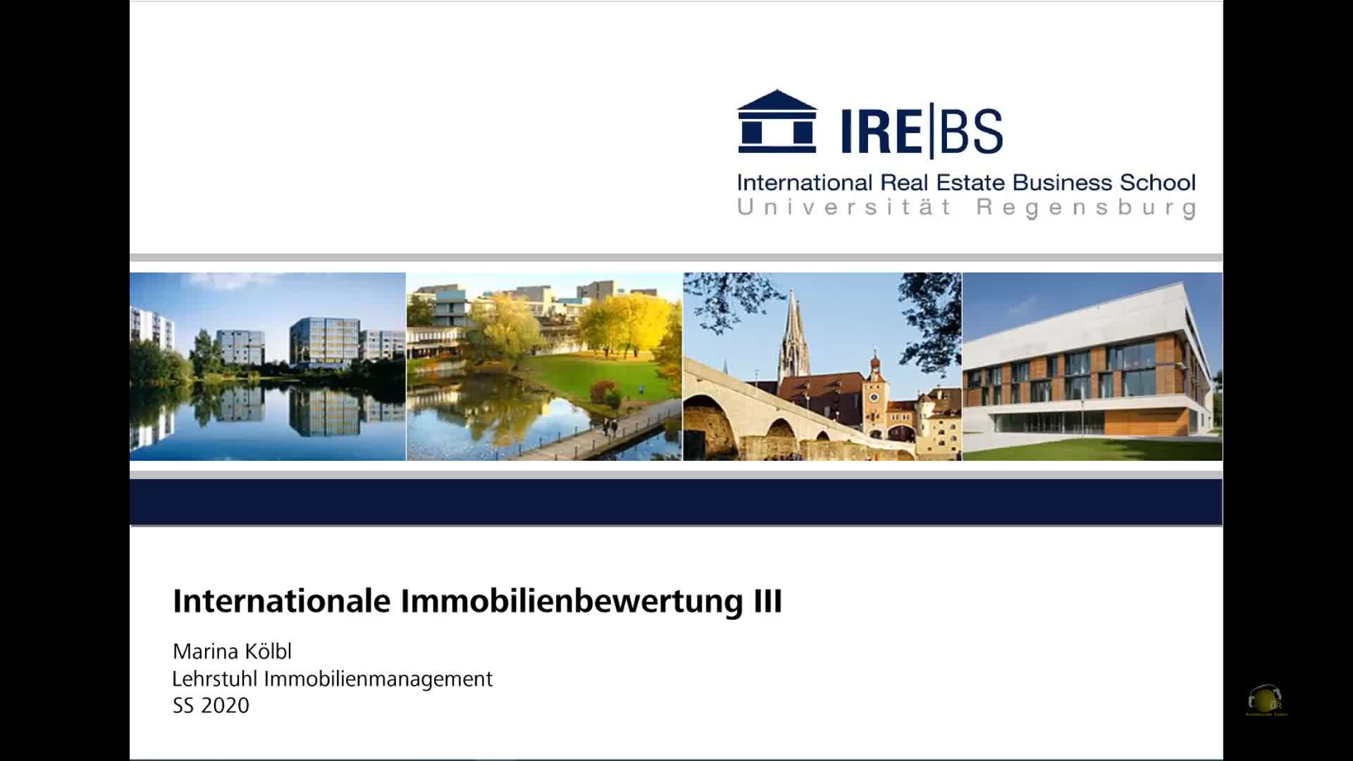 Immobilienmanagement II - Übung 3