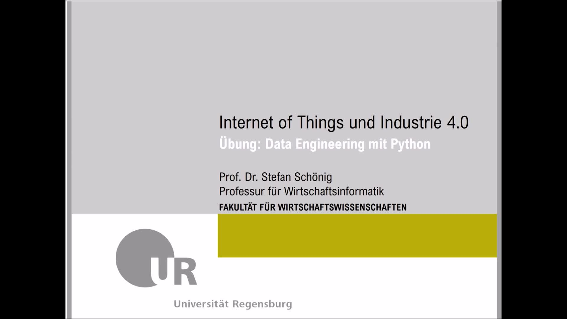 SS 2020 - Internet of Things und Industrie 4.0 - Übung 2 (Python Data Engineering)