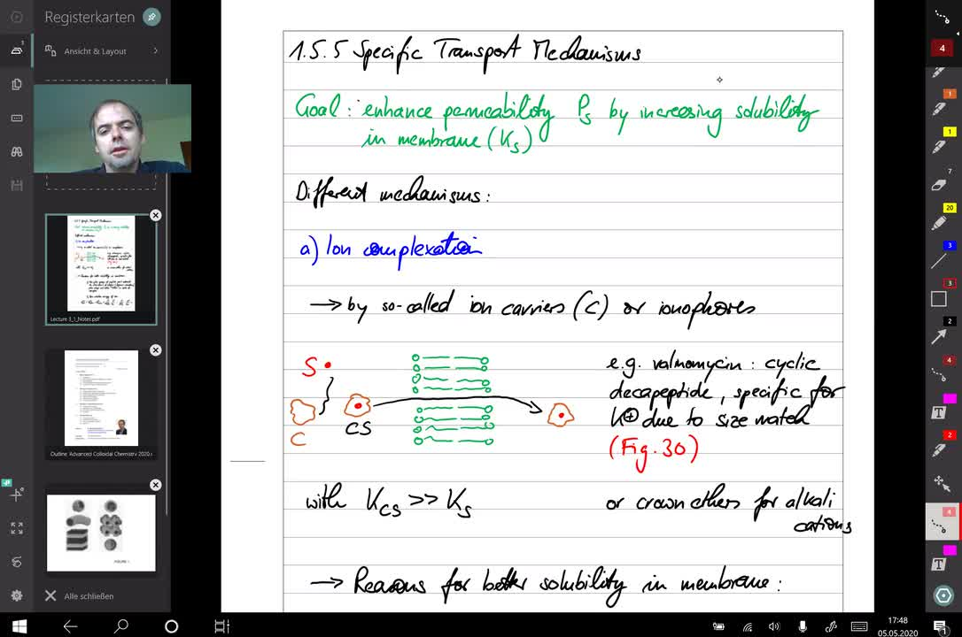 bilayer systems lecture 5
