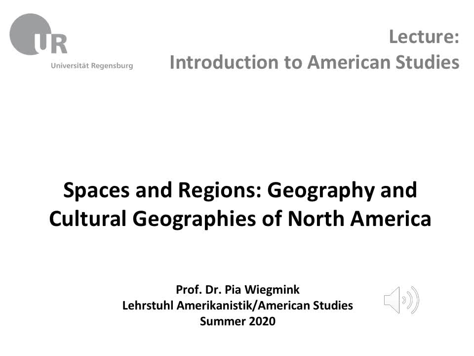 Spaces and Regions