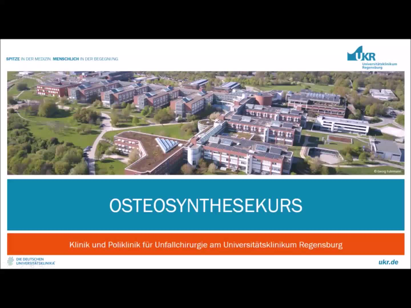 Video Osteosynthesekurs