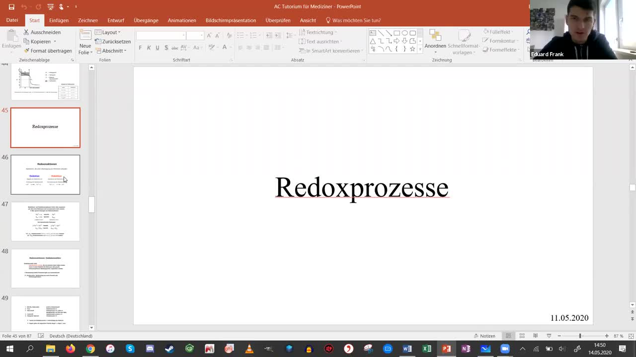 Session 5 - Redoxprozesse