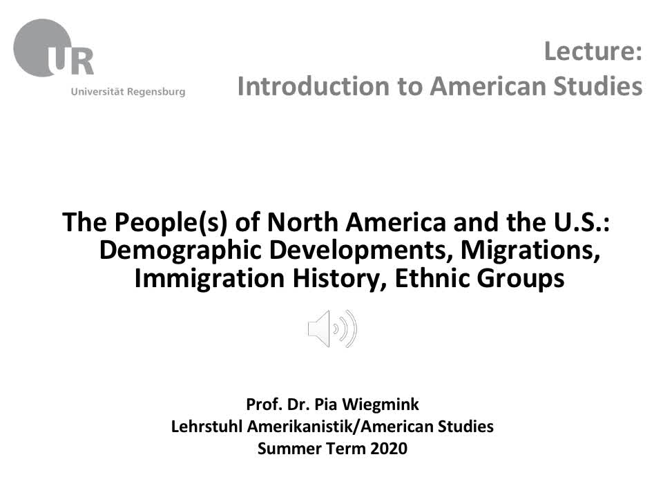 People, Demographics, Immigration