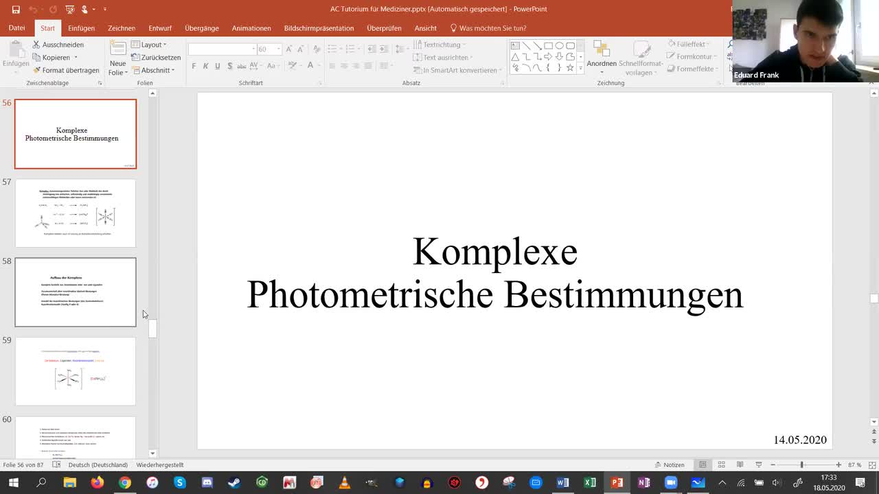 Session 6 - Komplexe