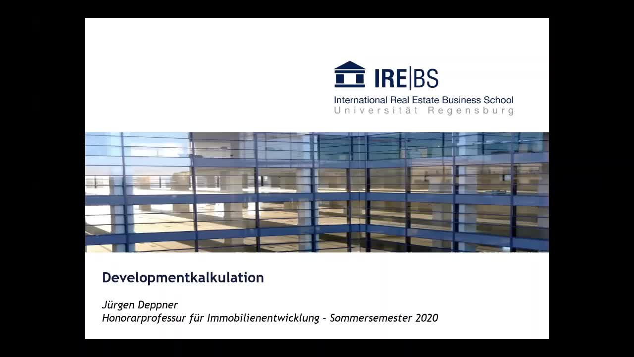 Übung 2: Developmentkalkulation