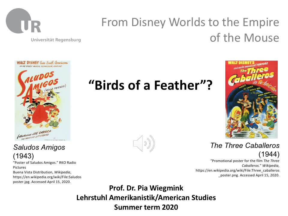 food for thought_Saludos Amigos (1943) and The Three Caballeros (1944)