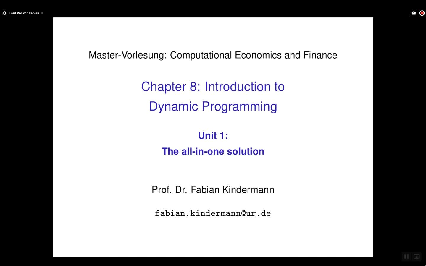 Chapter 8 - Unit 1 - The all-in-one solution