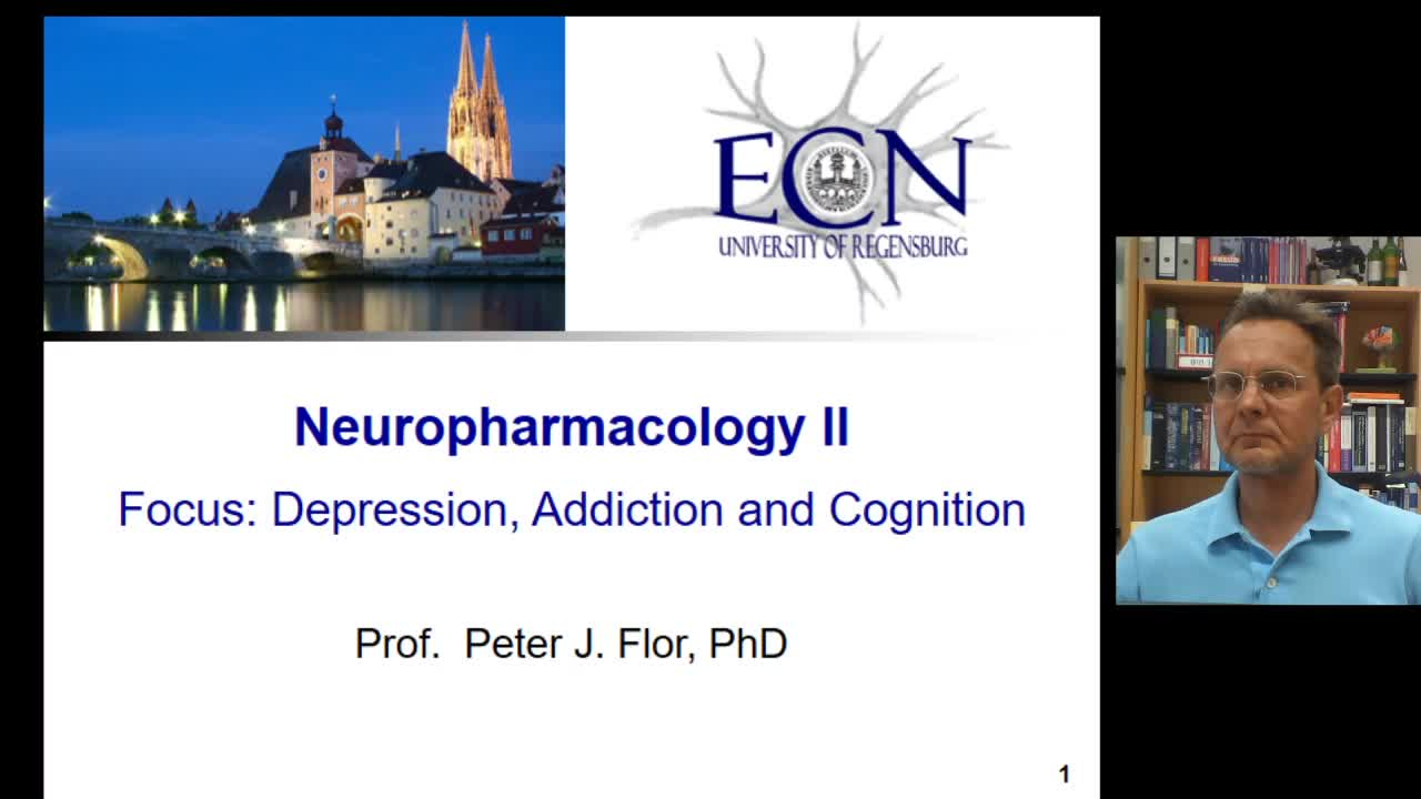 Neuropharmacology: Depression, Addiction and Cognition