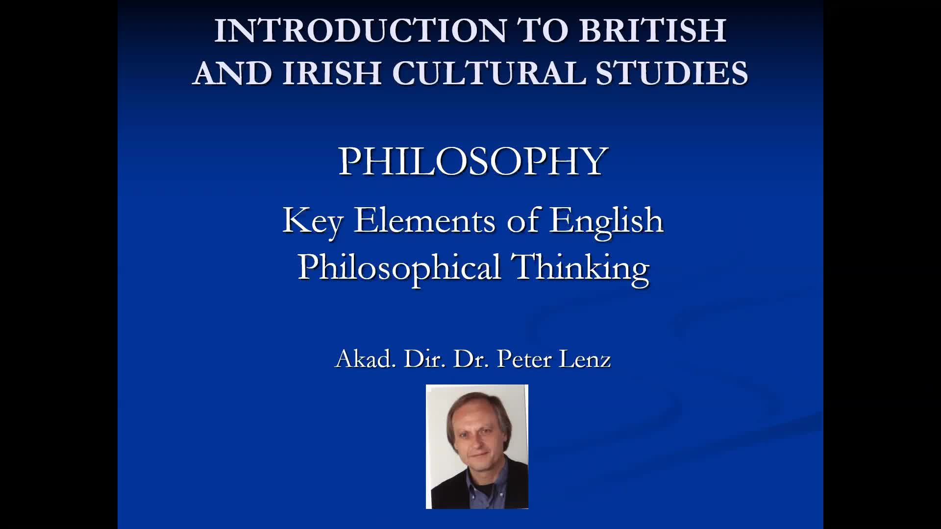 CS Lecture Philosophy Video