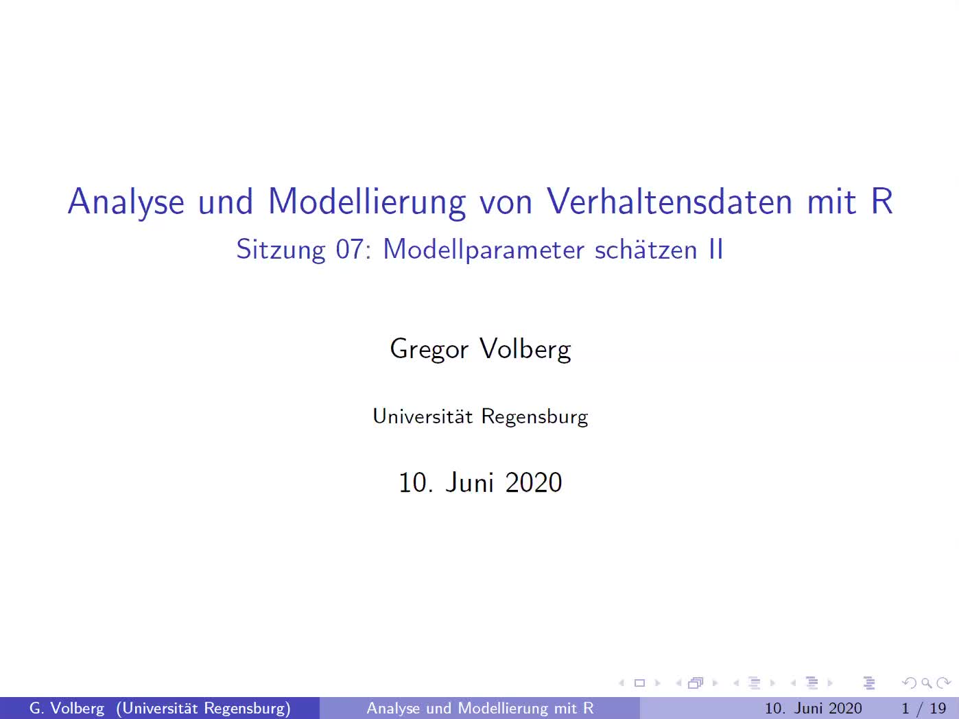 Sitzung 07: Zoom-Meeting