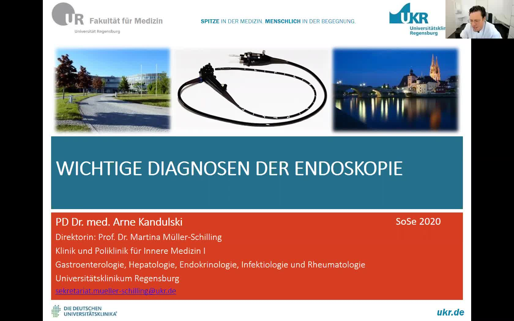Wichtige Diagnosen der Endoskopie
