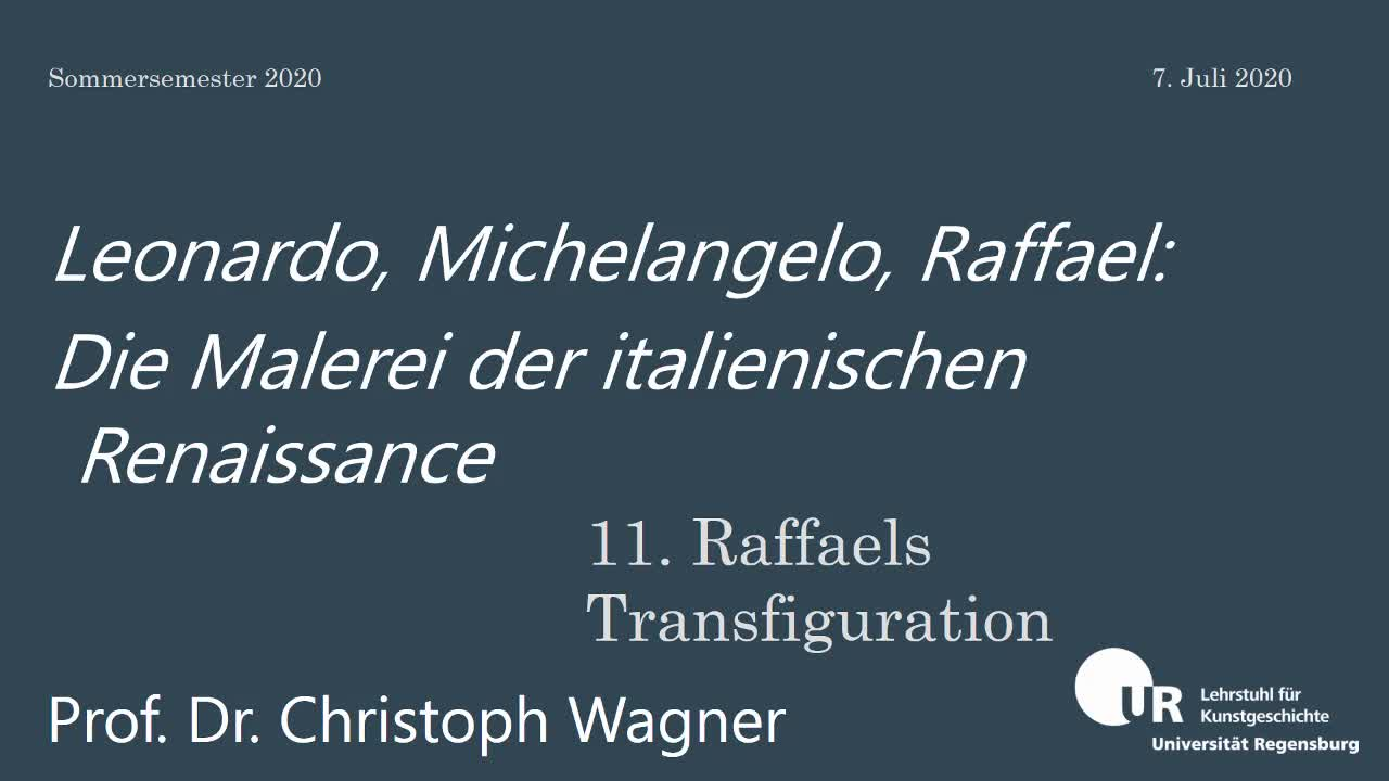 Raffaels Transfiguration 7-7-2020