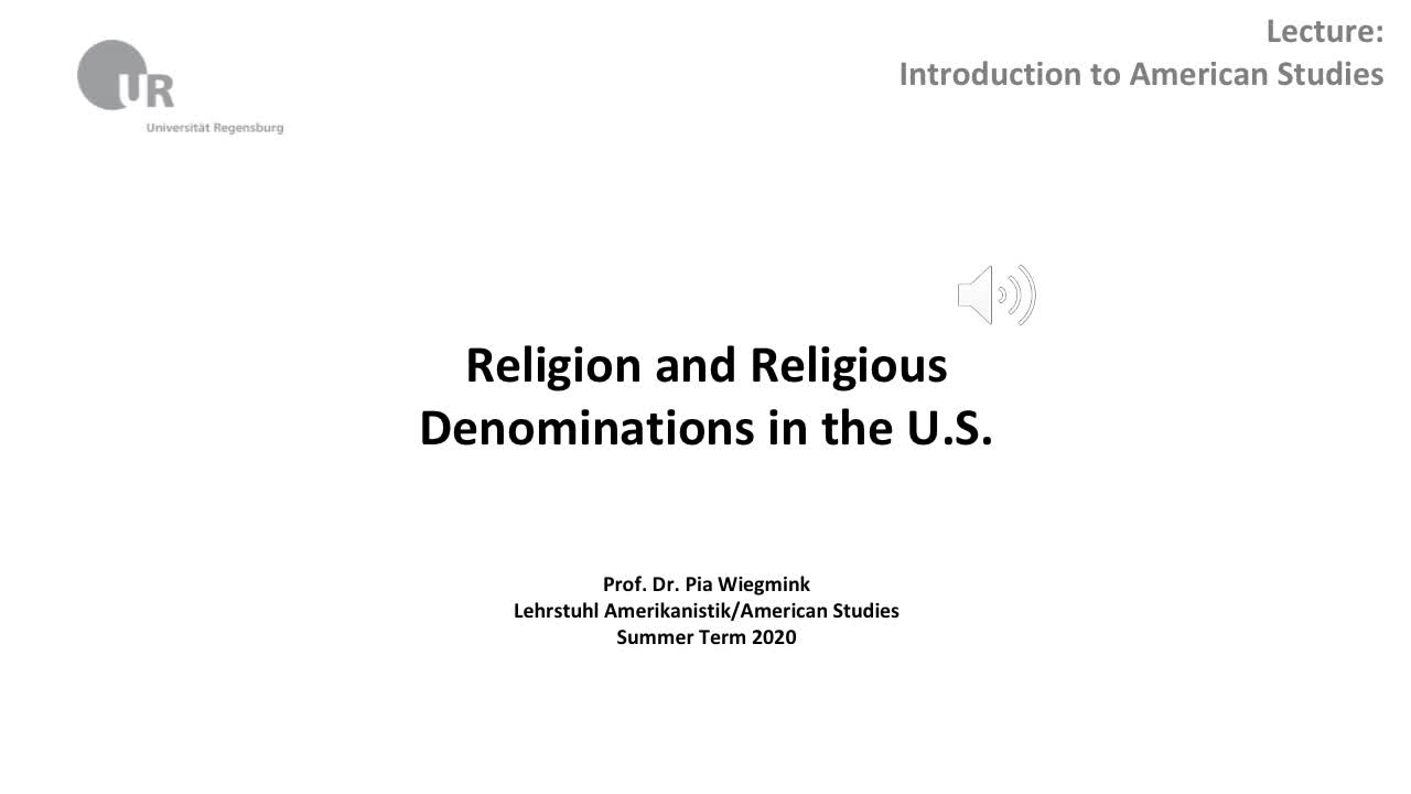 Religion and Religious Denominations in the U.S.