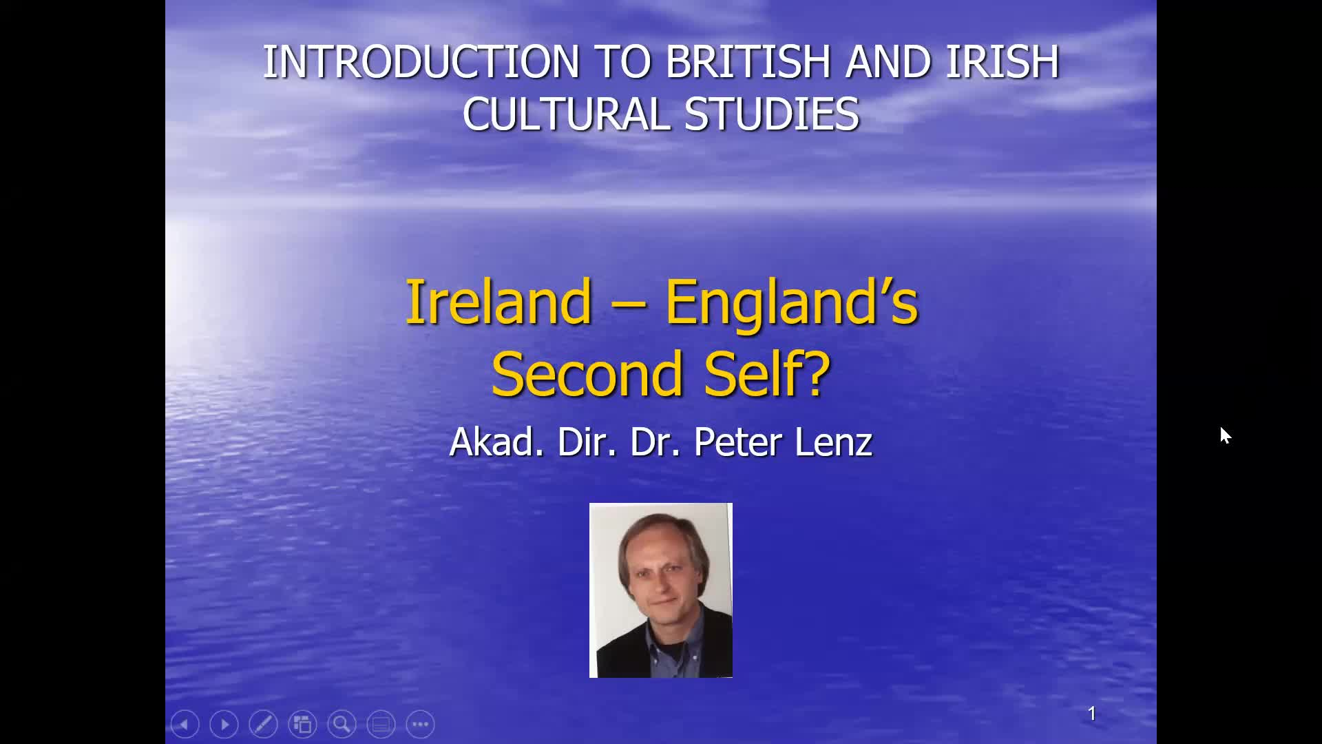 CS Lecture Ireland Video