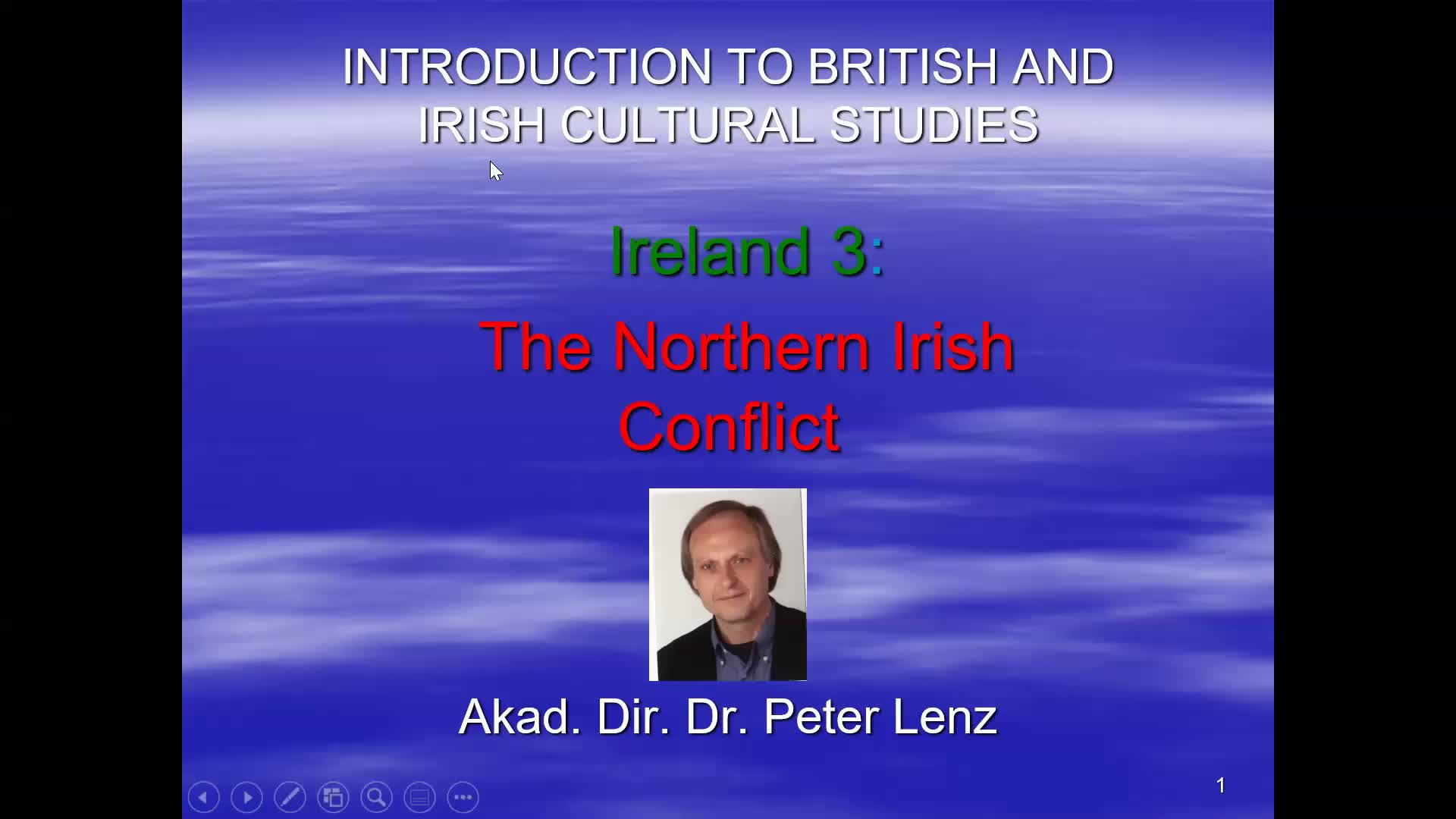 CS Lecture Northern Ireland Video