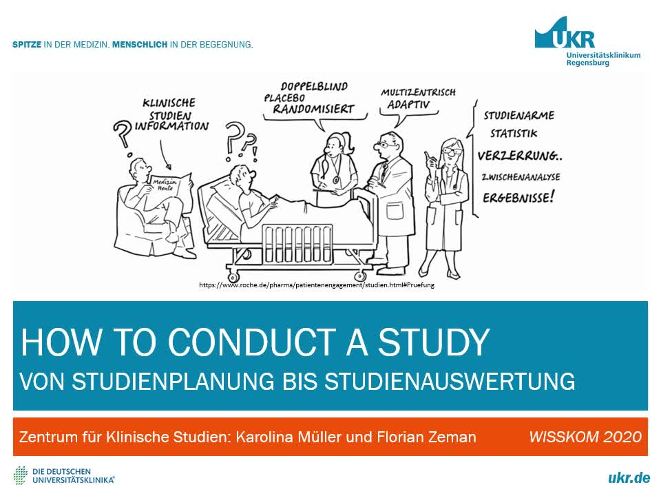 How to conduct a study Teil 1