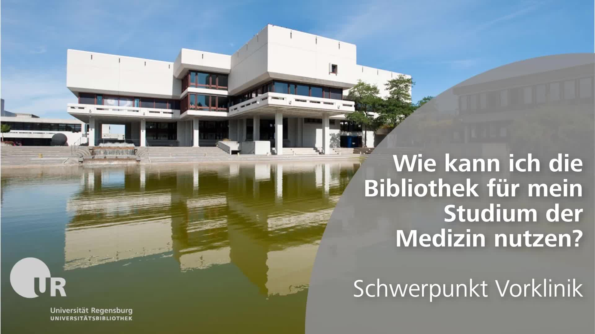 UB Tutorials: Fachinformation Medizin
