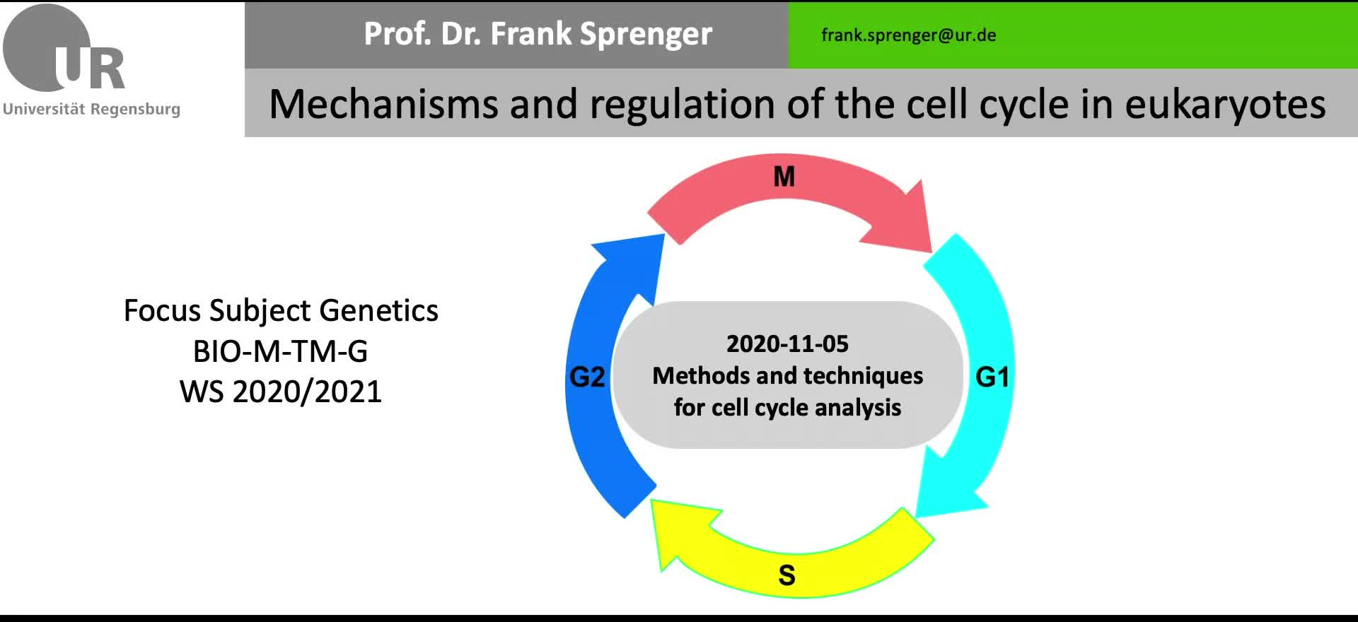 2020-11-05-Methods in Cell Cycle Research