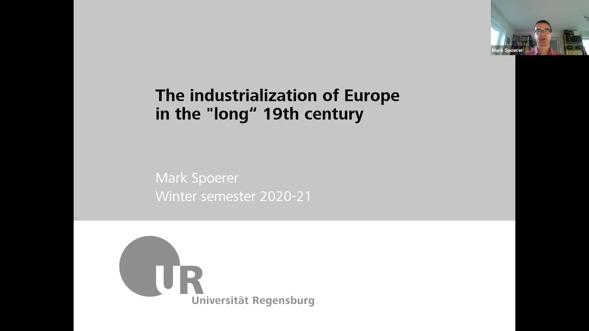 Industrialization - lecture 1