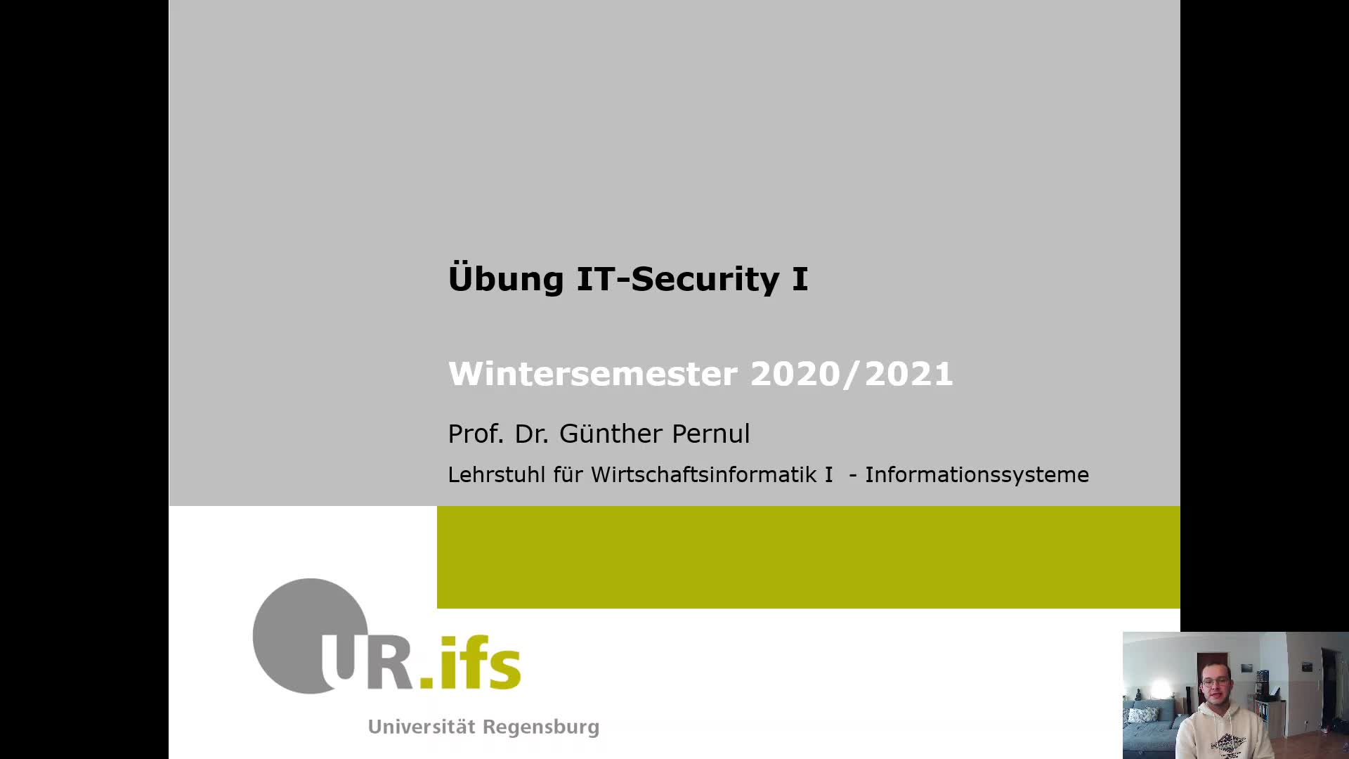 IT-Security 1 - Übung 1b - Motivation & Live Hacking