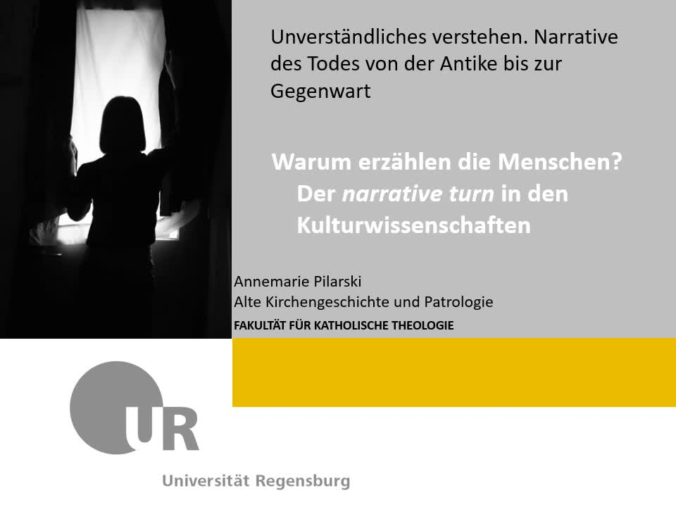 Der narrative turn in den Kulturwissenschaften