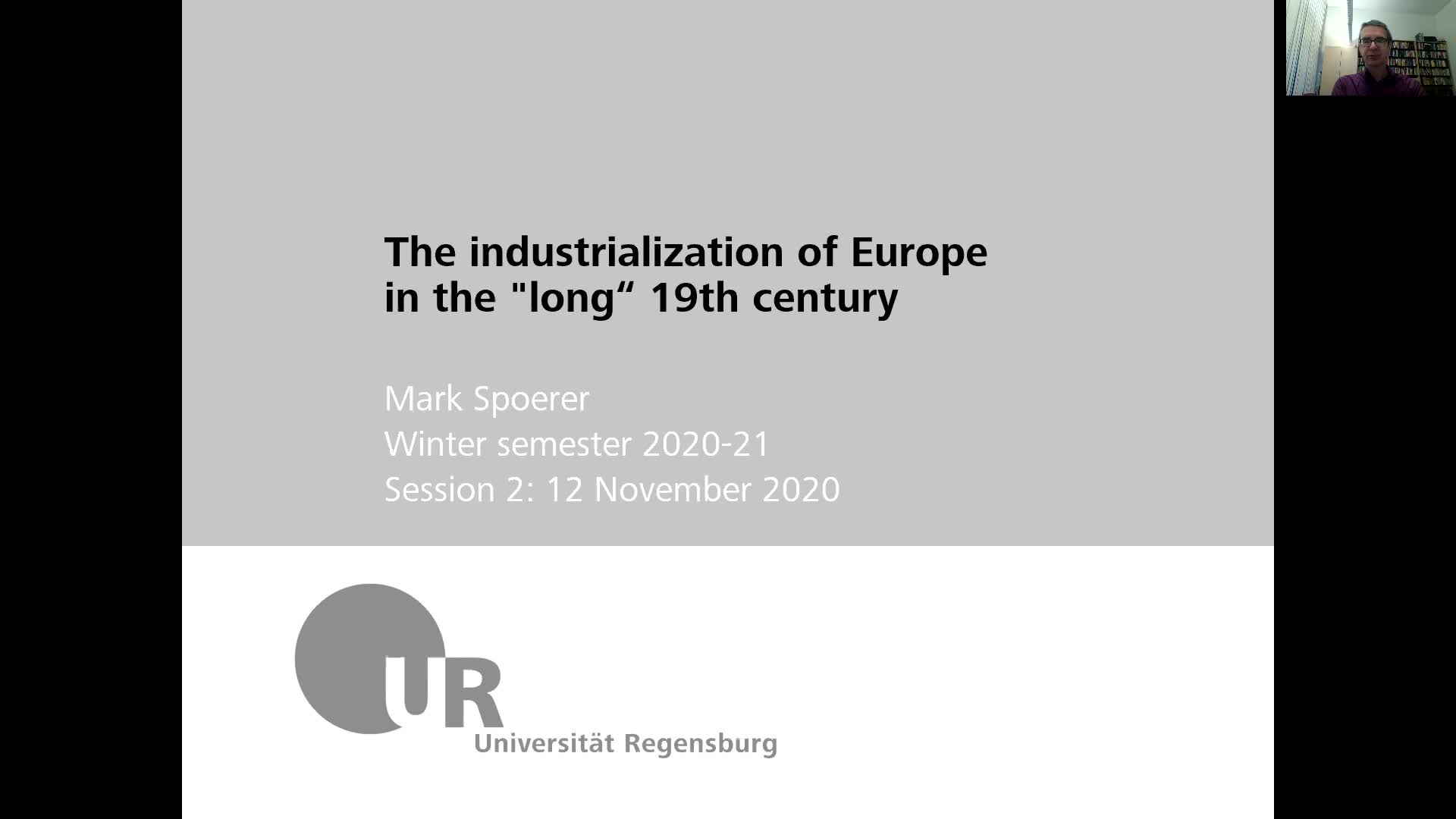 Industrialization - lecture 2