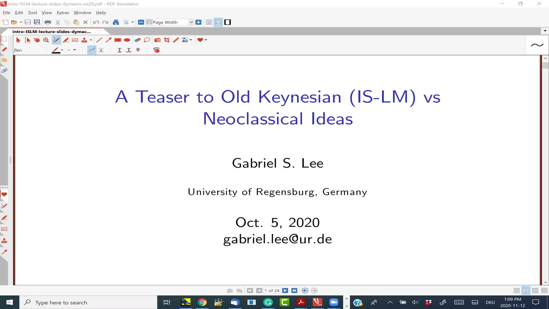 Teaser to Keynesian and Some Topics