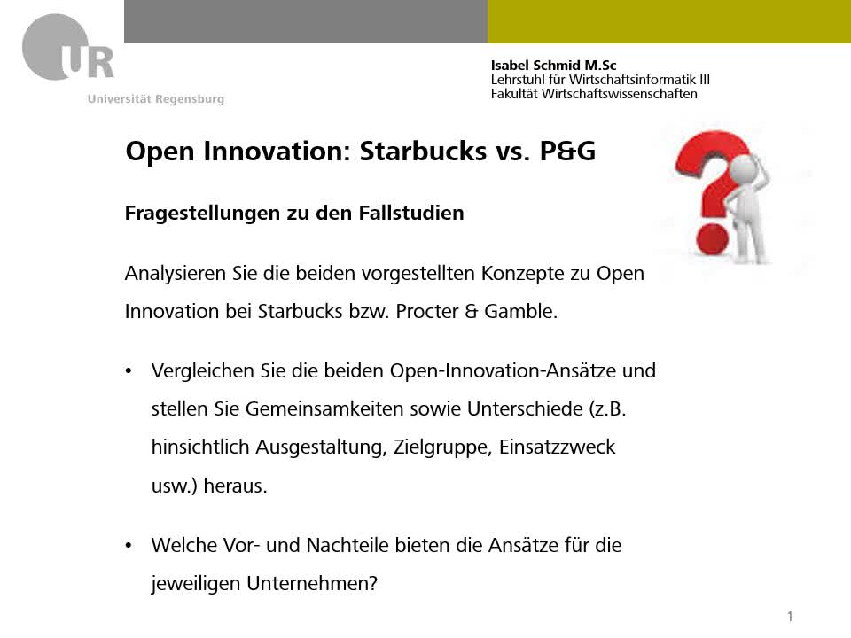 Open Innovation Lösung
