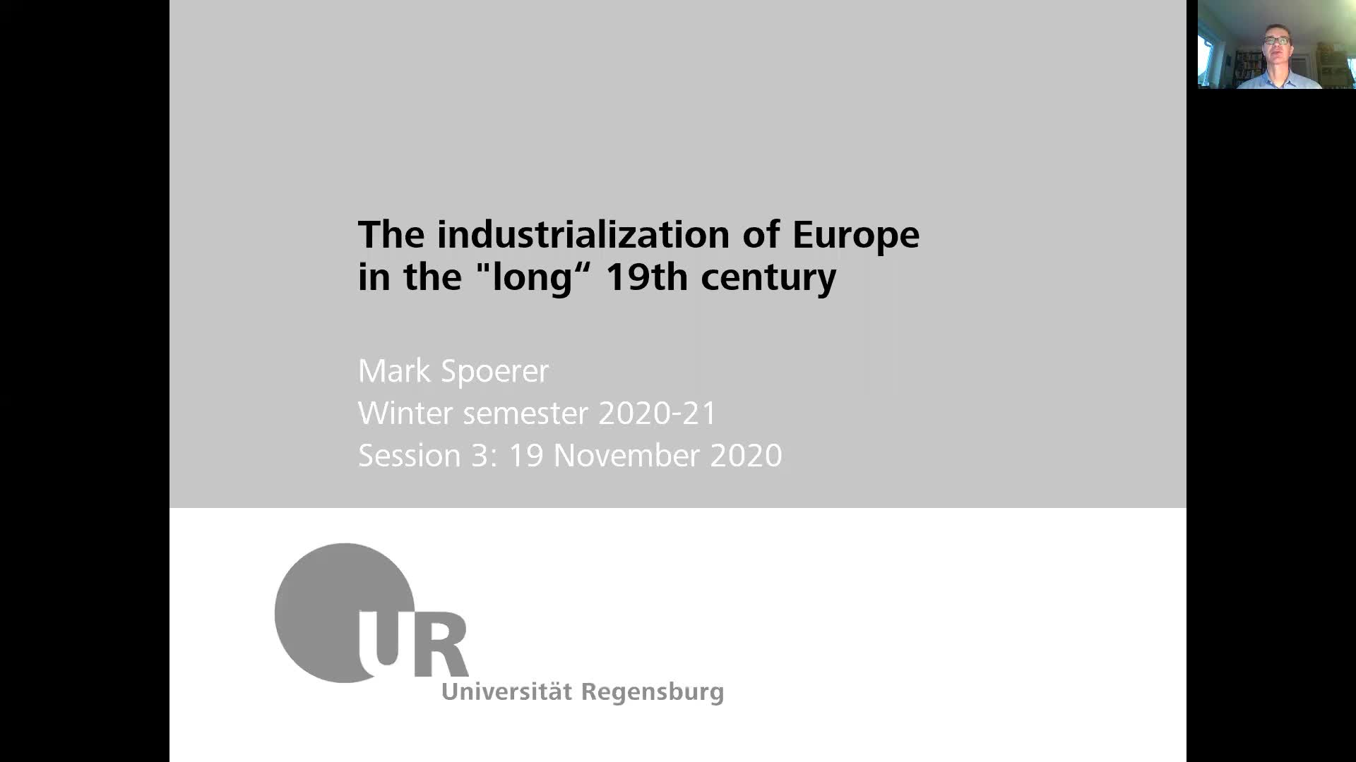 Industrialization - lecture 3